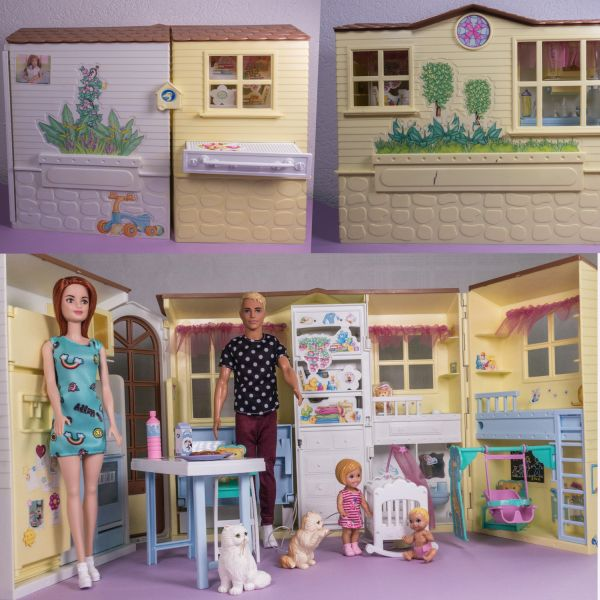 Barbie Familienhaus